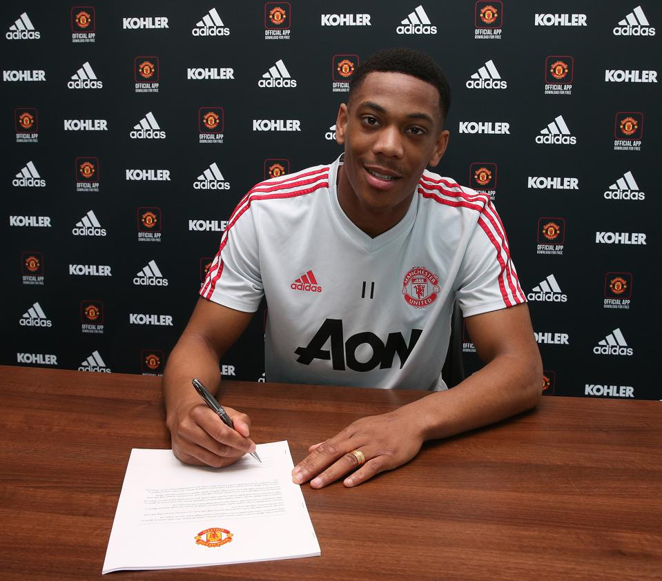 Anthony Martial Signs a Contract Extension at Manchester United