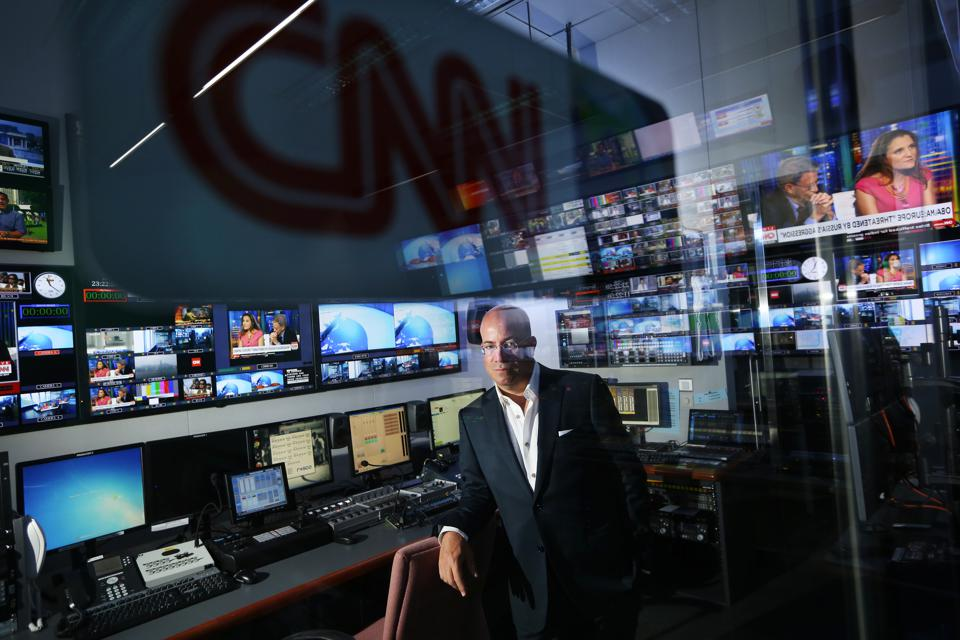 Interview with CNN Worldwide CEO Jeff Zucker at CNN office at Taikoo Place, Quarry Bay.   04SEP14