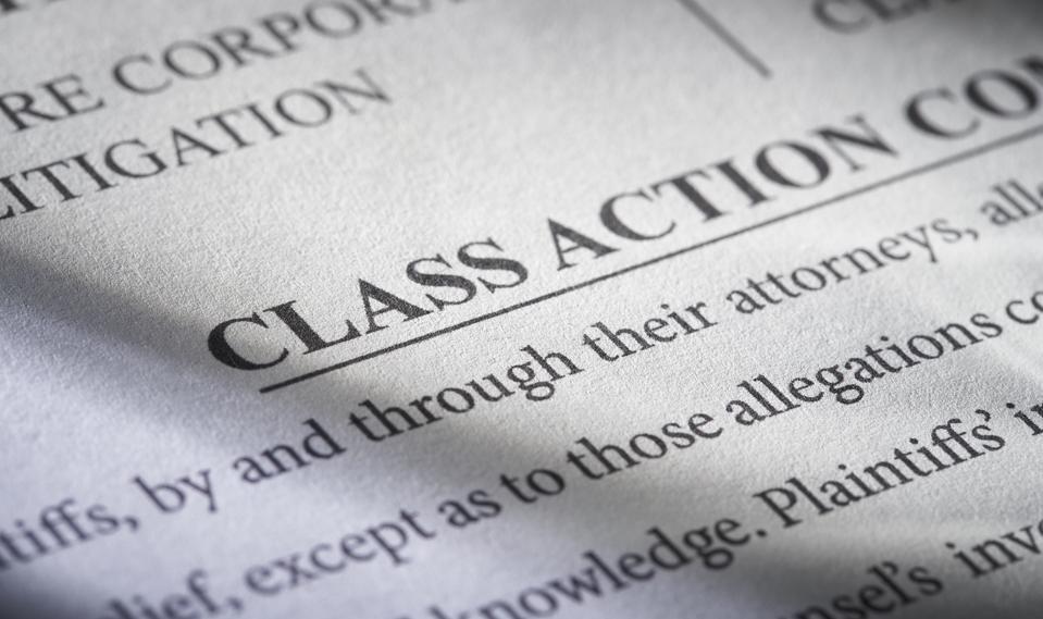 Class Action Lawsuit: Concept for legal class action lawsuit