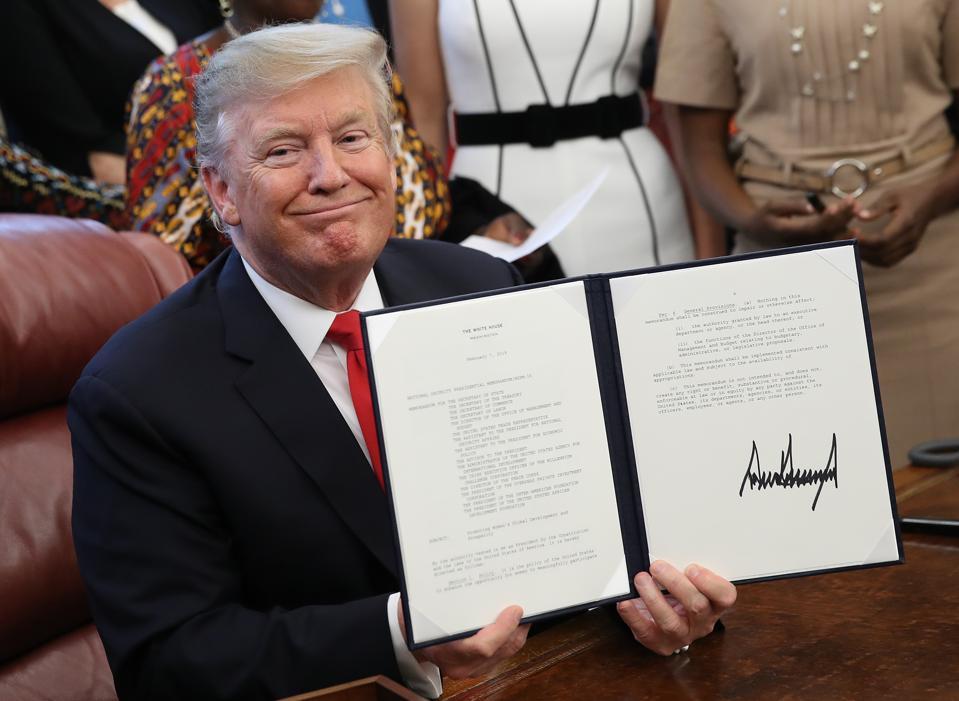President Trump student loans