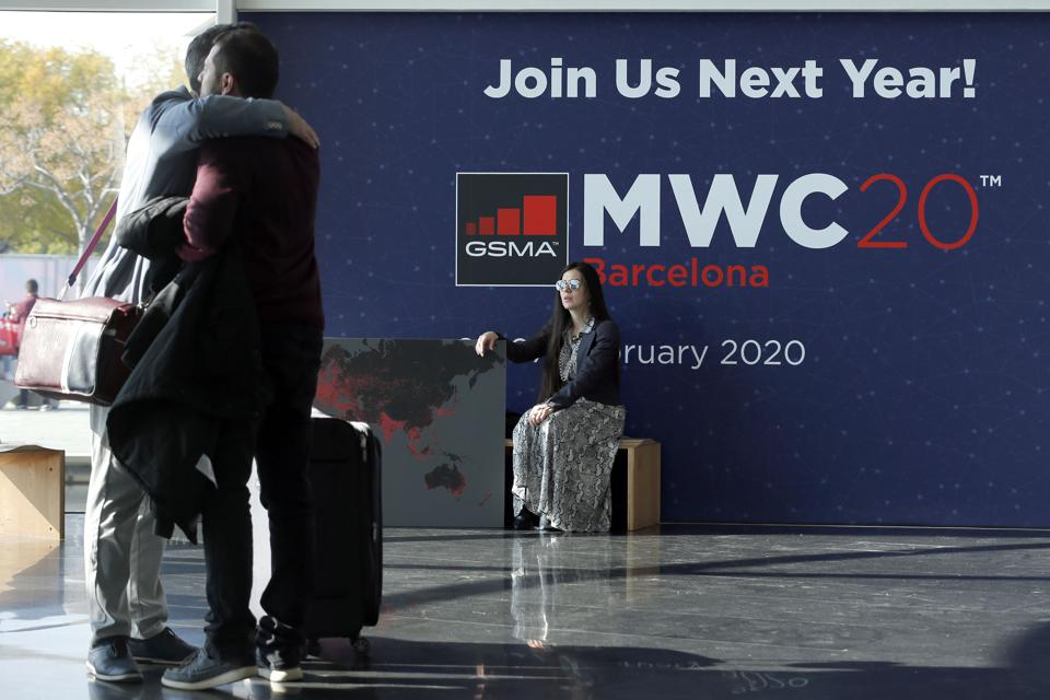 SPAIN-TELECOM-MWC Mobile World Congress coronavirus