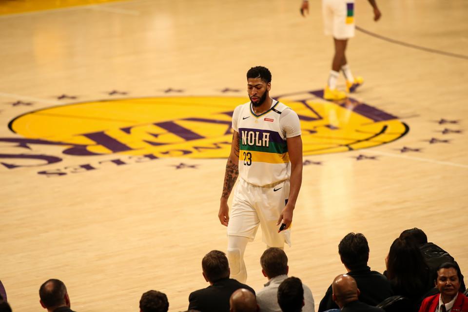 NBA: FEB 27 Pelicans at Lakers
