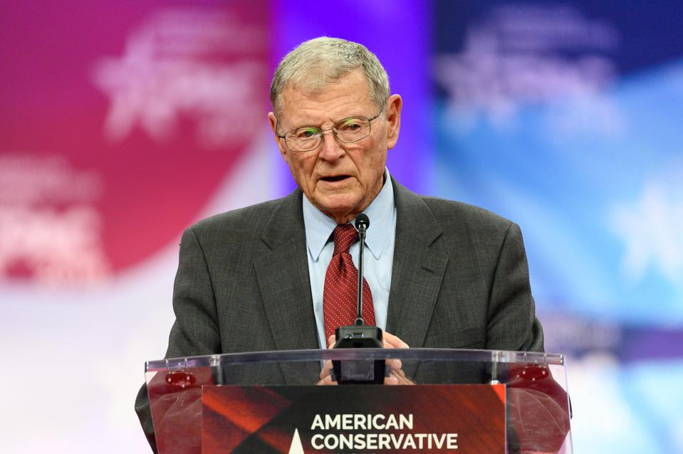 Senator Inhofe said Republican Senators ″are supportive of a second stimulus check and that financial relief ″is going to happen, just not yet,″ one of the first indications that Republicans may be changing their tune on the matter.