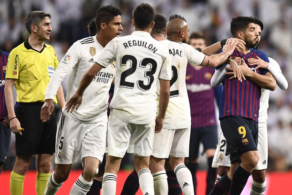 Barcelona And Real Madrid Unite Against El Clásico Venue Change As Political And Regional Tensions Escalate