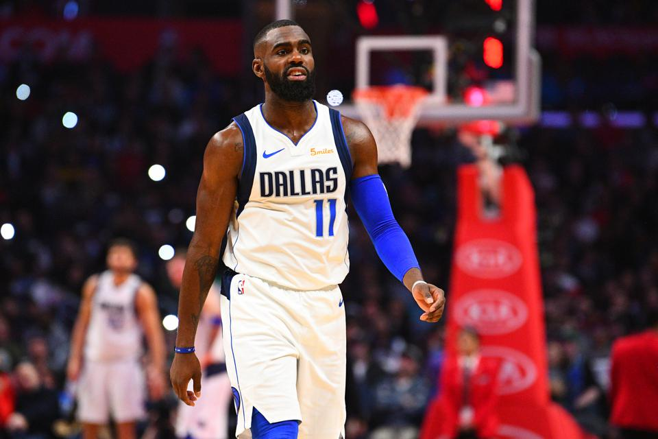Tim Hardaway Jr. of the Mavericks in a game against the Los Angeles Clippers in February.