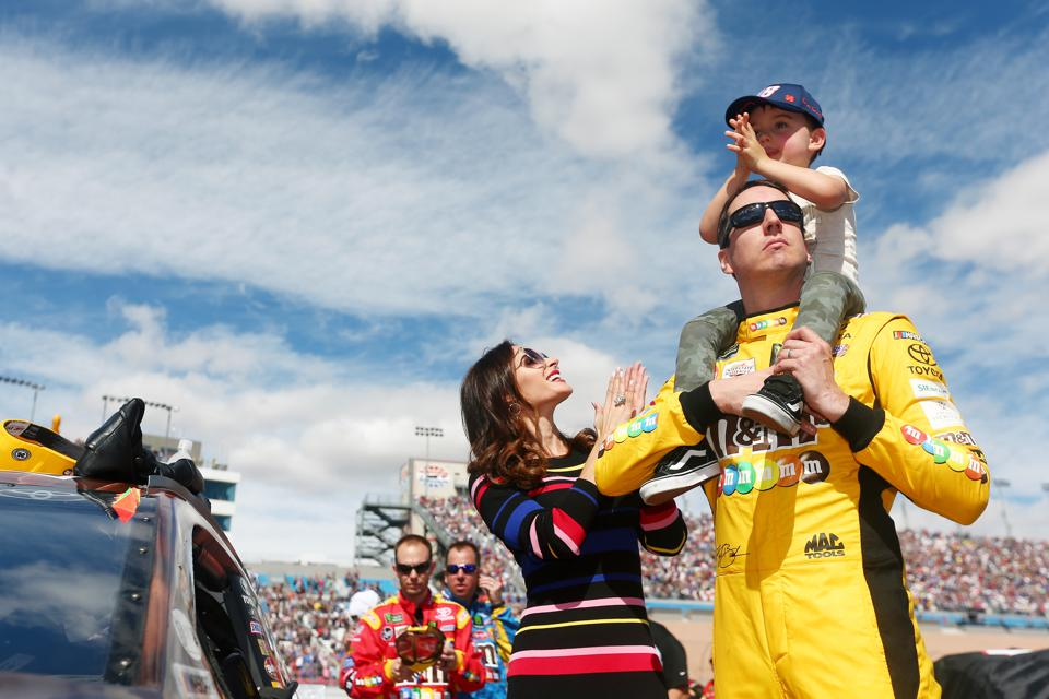 Racing And Winning Is A Family Pursuit For Kyle Busch