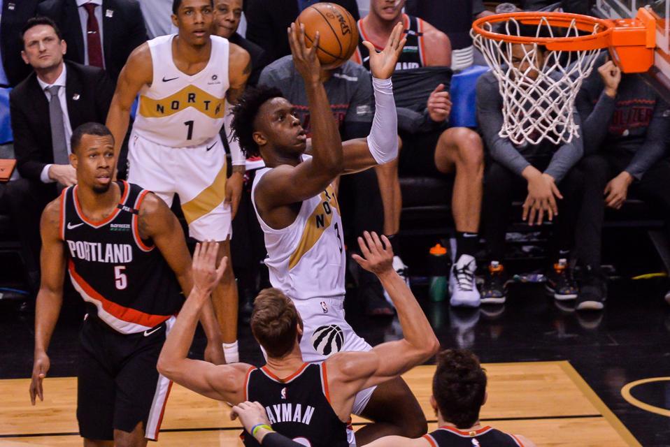 Portland Trail Blazers v Toronto Raptors - NBA Game