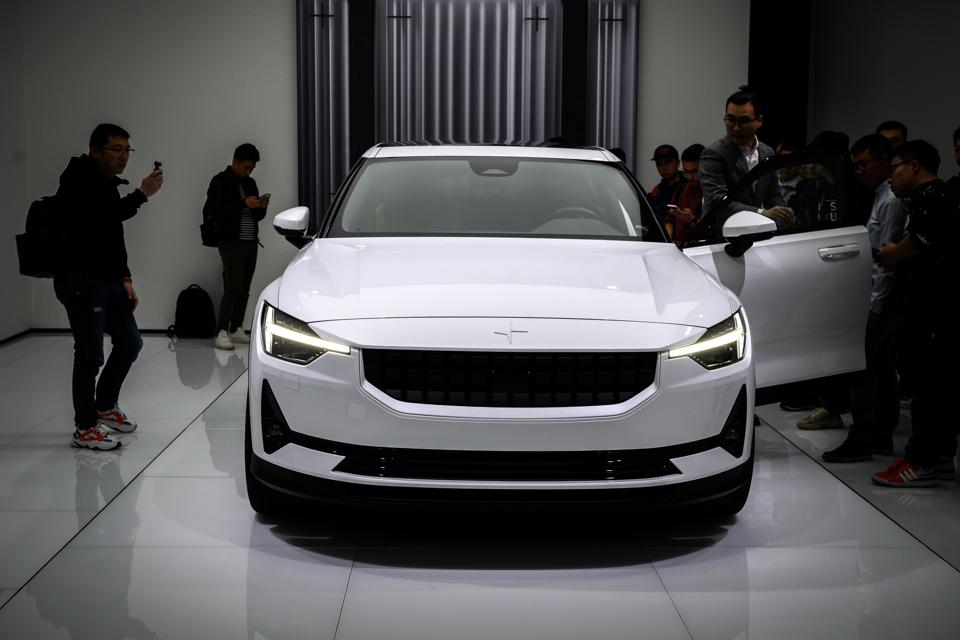 Volvo's Polestar Electric Car Will Take On The World In 2020