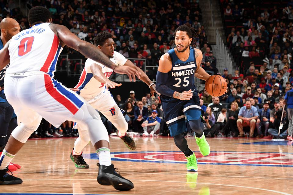 sélection premium af9f4 bafe8 What Can The Detroit Pistons Expect From Derrick Rose Next ...