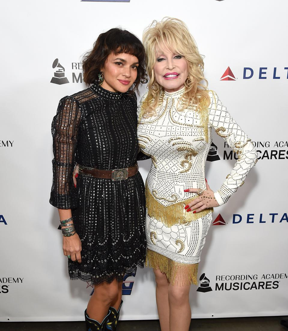 MusiCares Person Of The Year Honoring Dolly Parton - Red Carpet