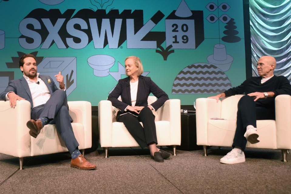 Convergence Keynote: The Next Form of Storytelling: The Future of Technology-Enabled Entertainment - 2019 SXSW Conference and Festivals