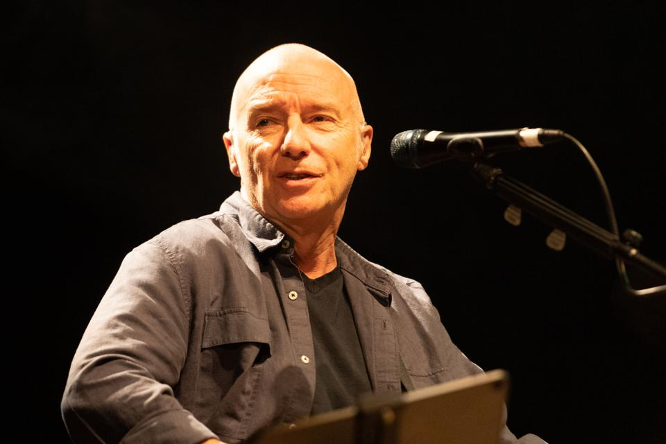 Midge Ure Performs At The Queen's Hall In Edinburgh