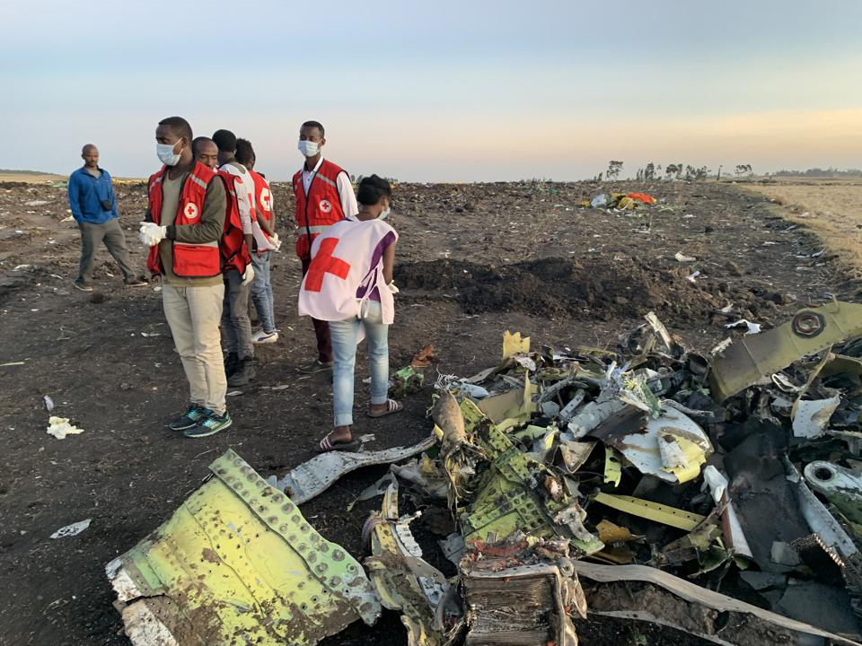 ETHIOPIA-BISHOFTU-ETHIOPIAN AIRLINES-JET CRASH