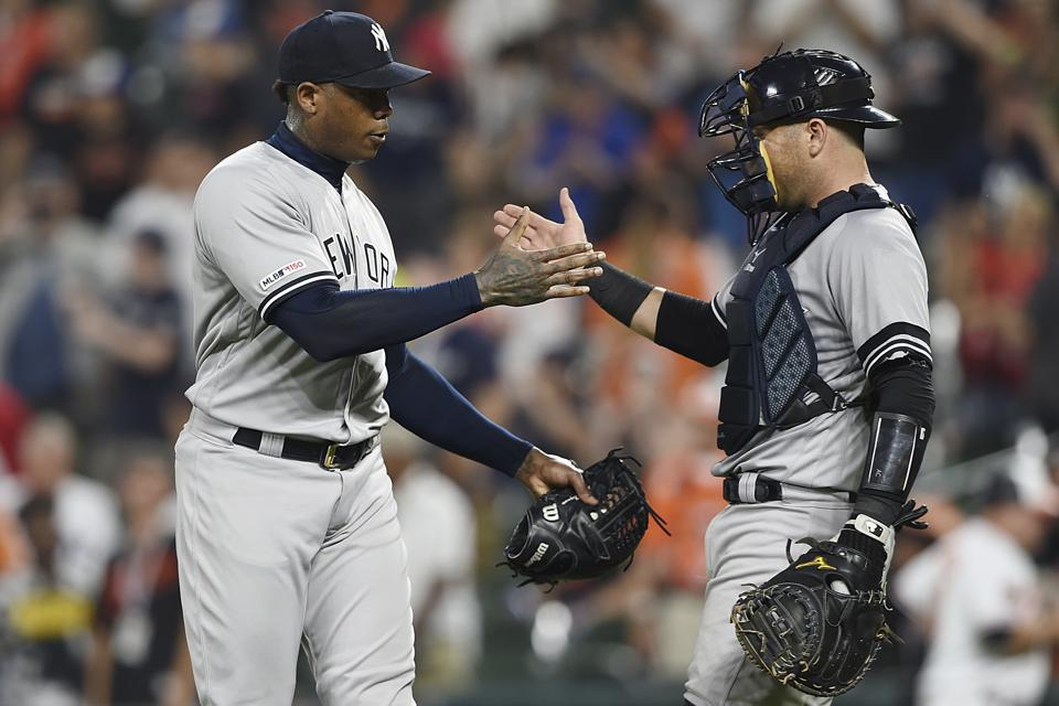 Yankees Orioles Baeseball