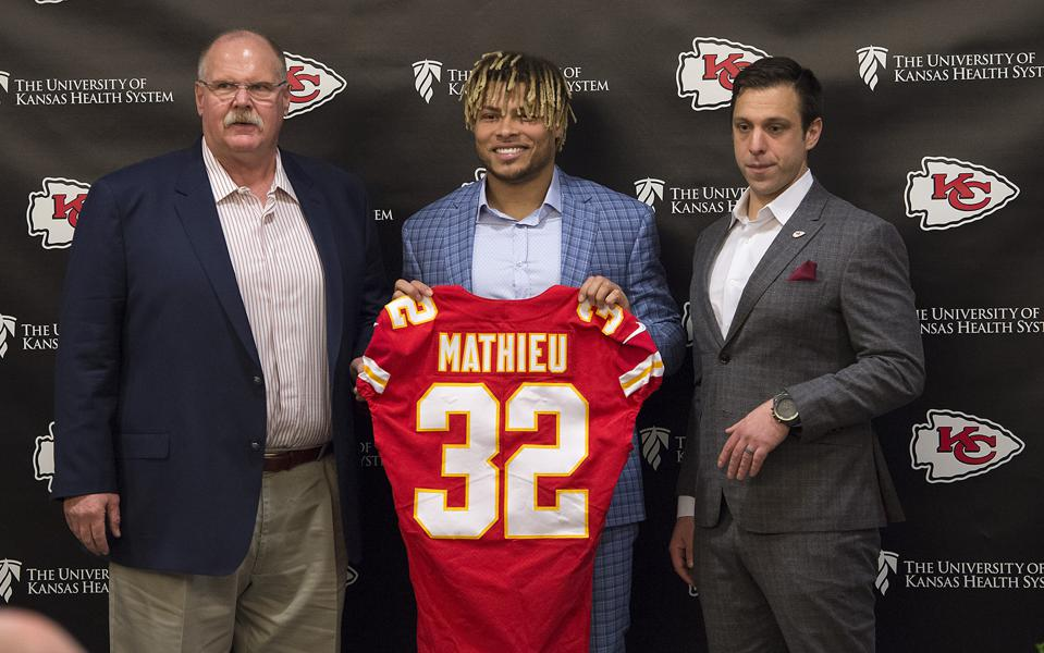 newest 38a81 074f7 ESPN Analyst/Former NFL Safety: Tyrann Mathieu Is A 'Special ...
