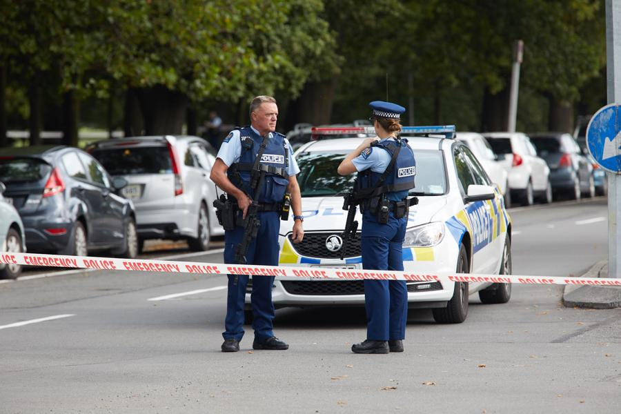 Christchurch Shooting Latest 4 In Custody At Least 40: Christchurch Shooting Footage Twitter