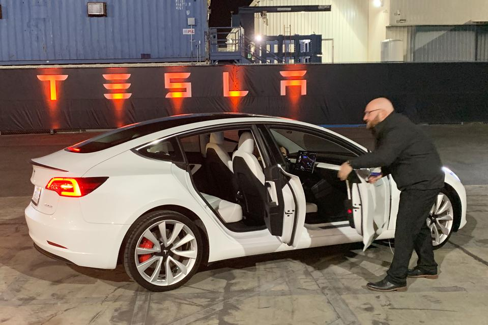 Tesla Intensifies Thrust Into Europe As Model 3 Enters U K