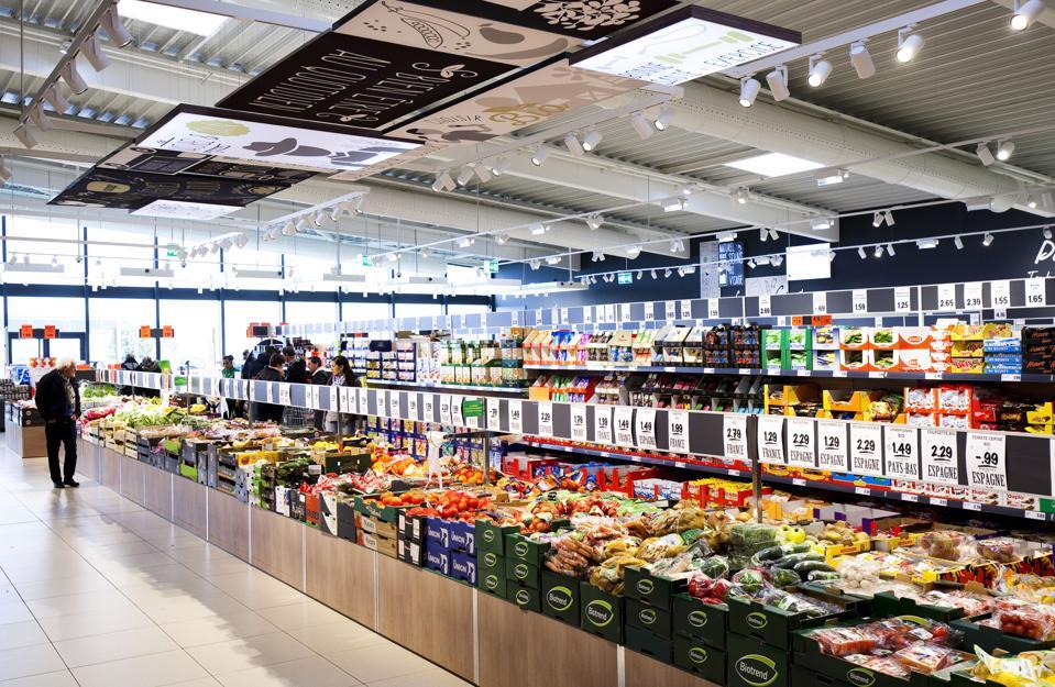 Lidl supermarket, north of Montauban.