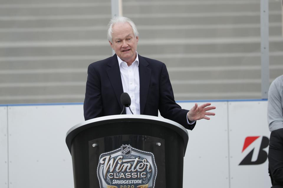 Bridgestone Winter Classic 2020 Press Conference