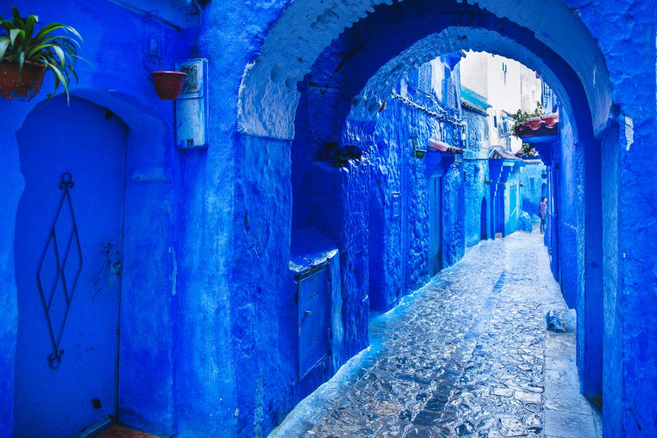 Is Chefchaouen, Morocco, the unofficial capital of Pantone's Color of the Year 2020?