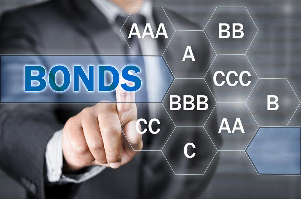 Various bonds rating from single C to AAA