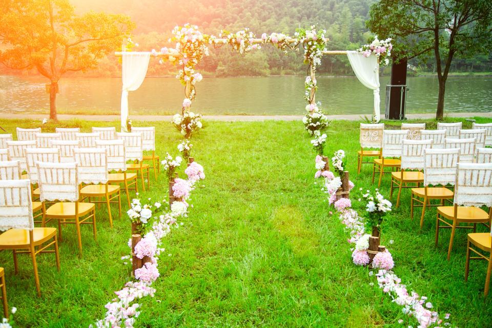 Grassland wedding