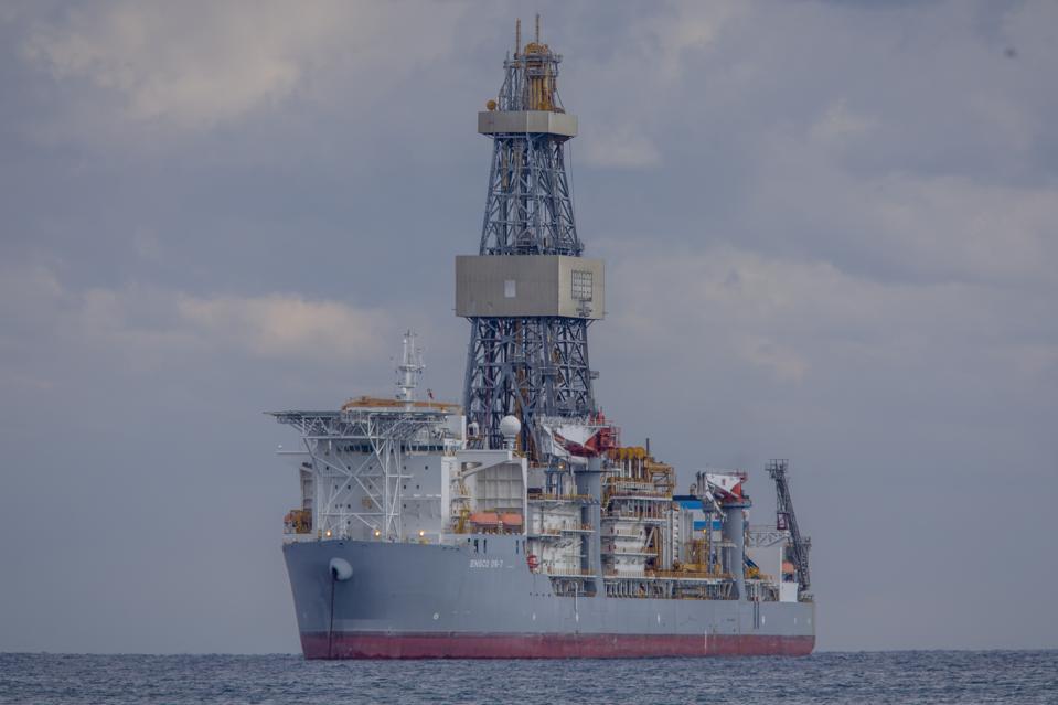 Drillship in Cyprus
