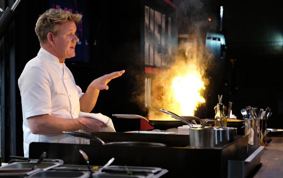 Gordon Ramsay on Fox's 24 Hours To Hell And Back. (Photo by FOX via Getty Images)