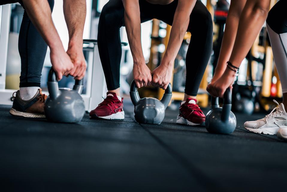 Intensive gym training