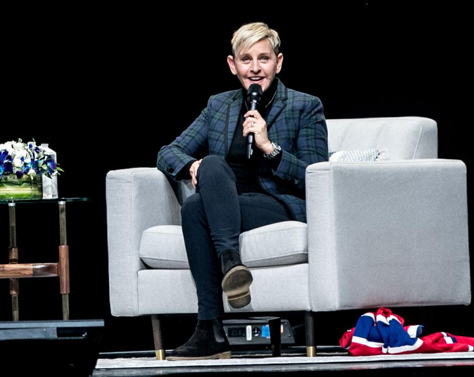 In Conversation With Ellen DeGeneres