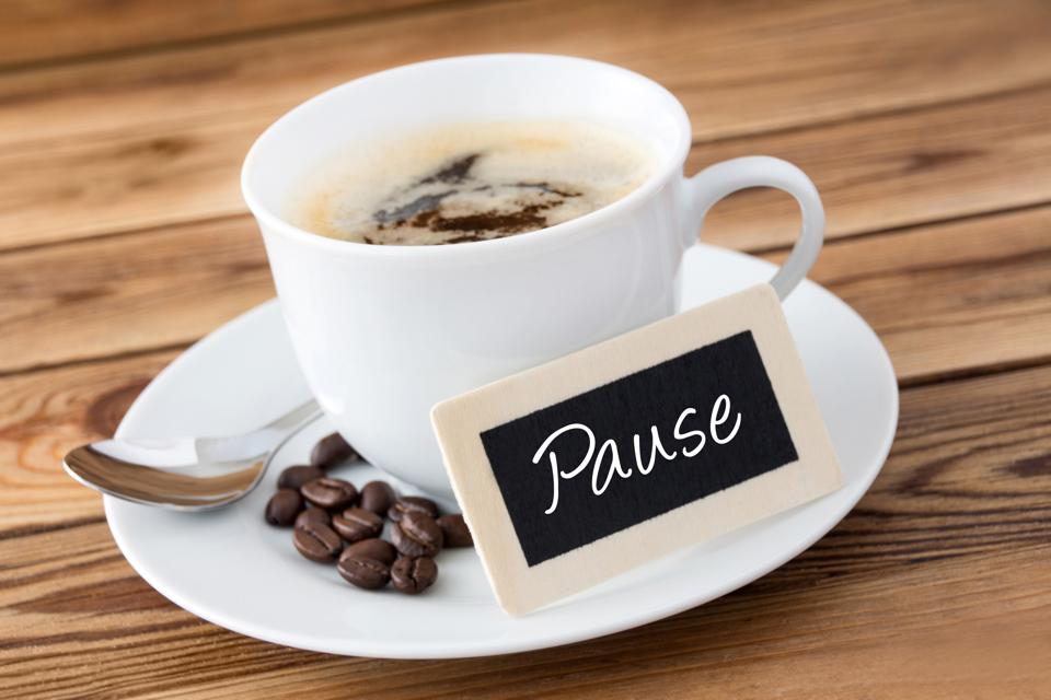 Learn to take a Purposeful Pause
