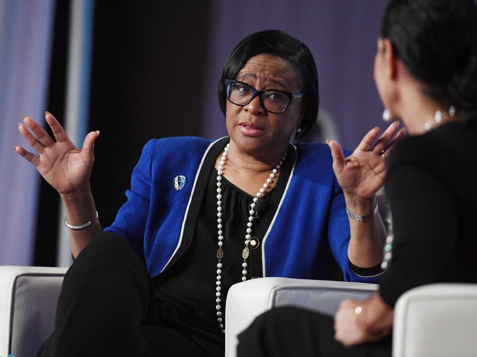 Cynthia Marshall At Black Enterprise Women Of Power Summit