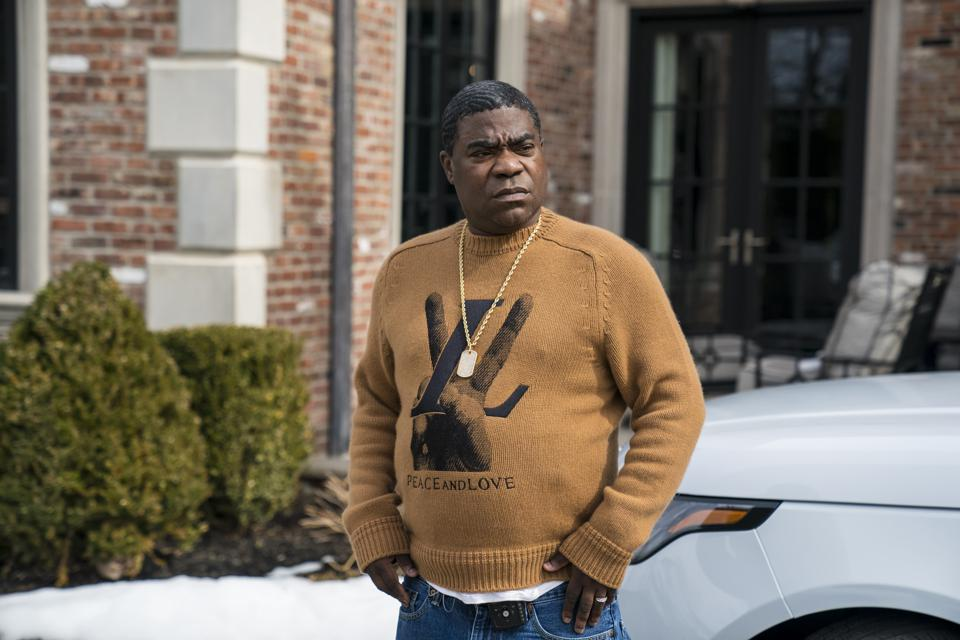 Tracy Morgan's new supercar needs to  go back to the shop for repairs.