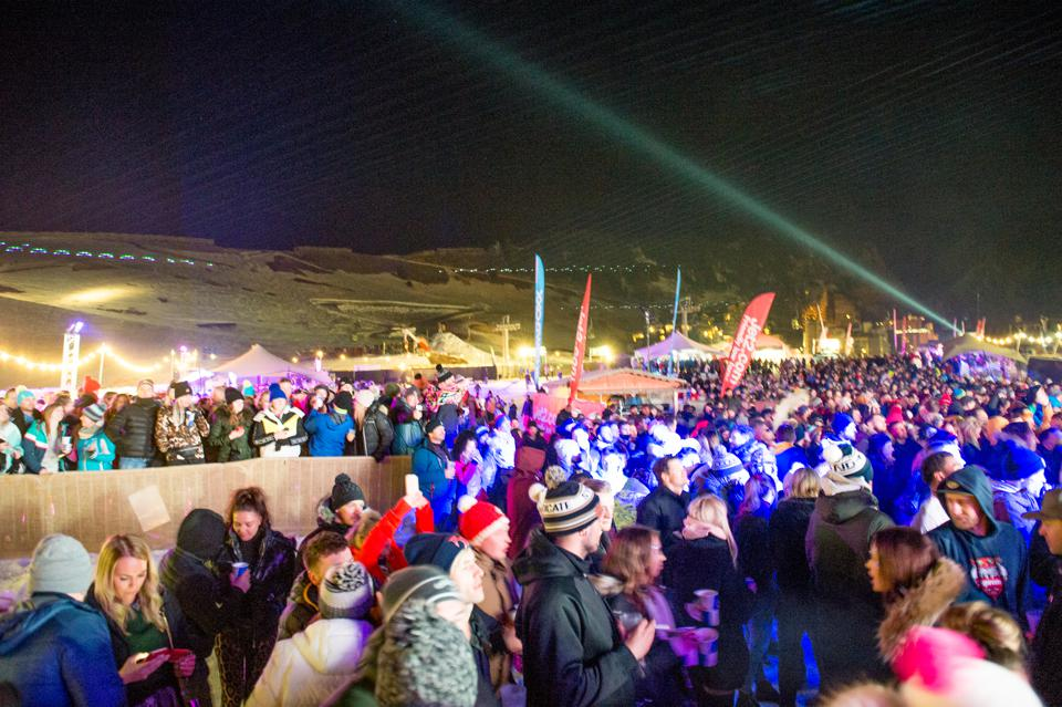 The Snowboxx Festival on March 28, 2019 in Avoriaz, France.