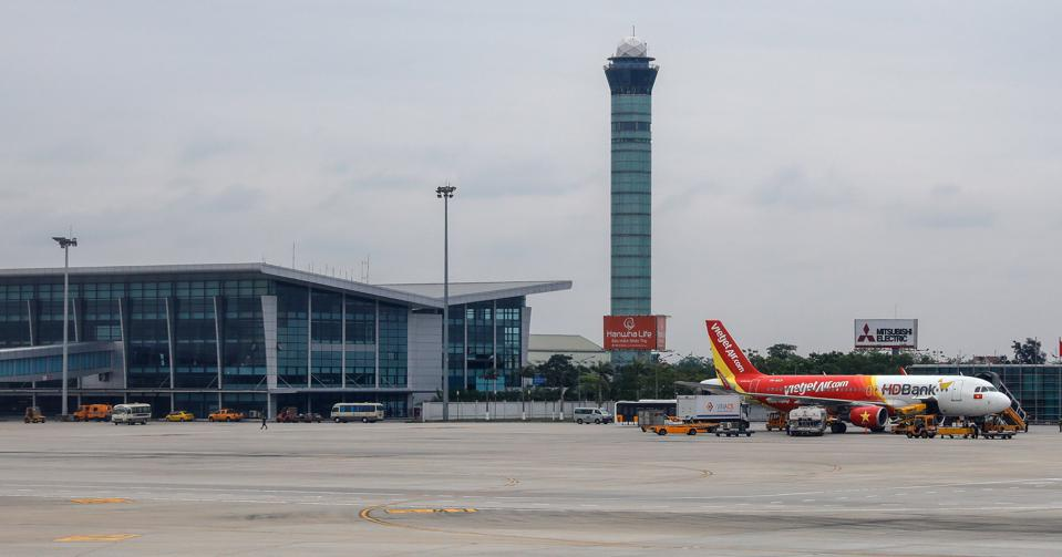 Everyday life in VietnamA view of Noi Bai International Airport in Hanoi