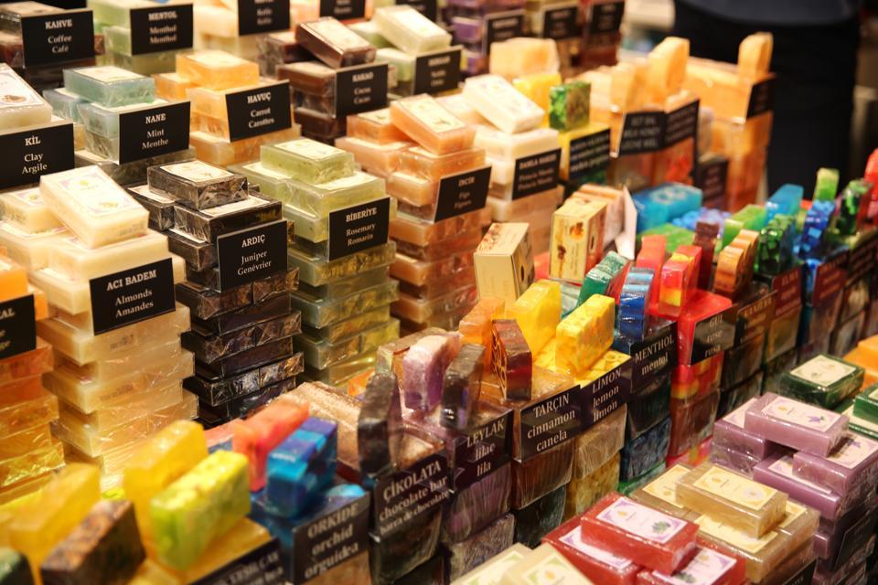 Colorful Soaps in Grand Bazaar