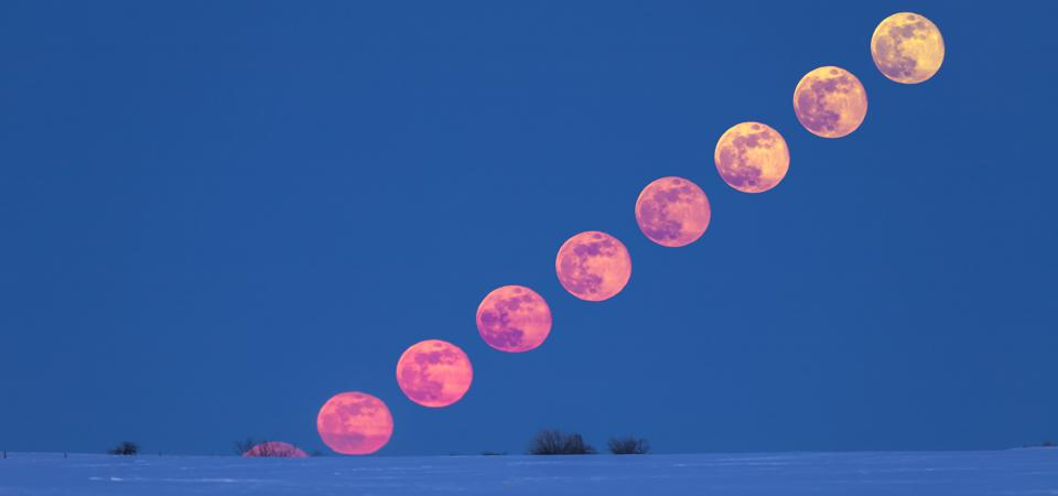 The rising of the full Moon each month is one of nature's greatest sights.