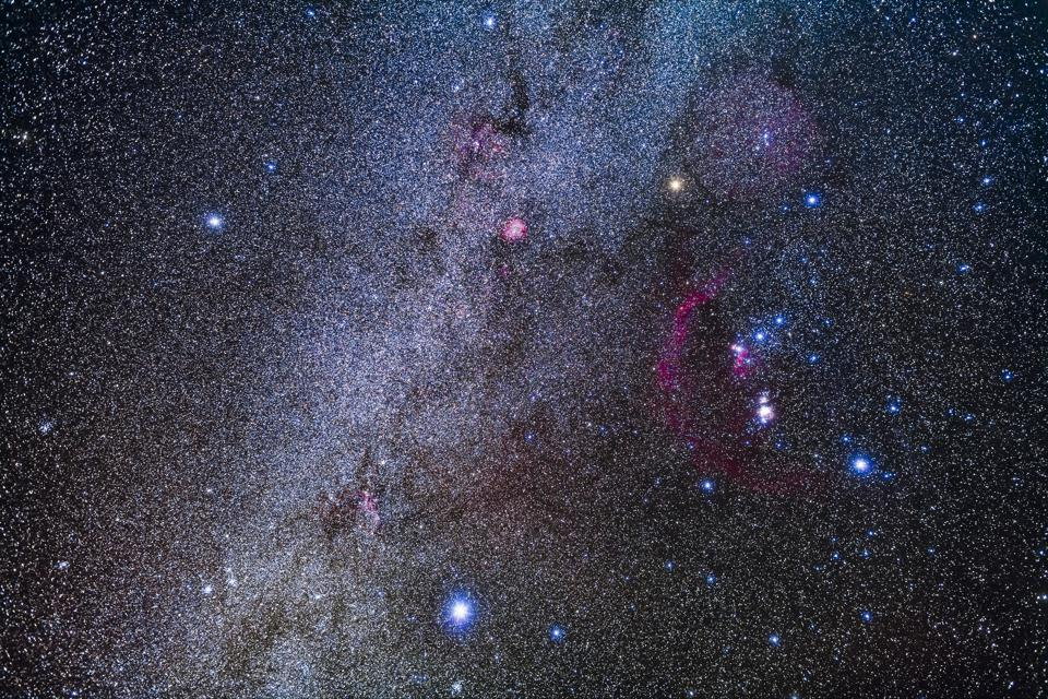 The constellation of Orion the Hunter