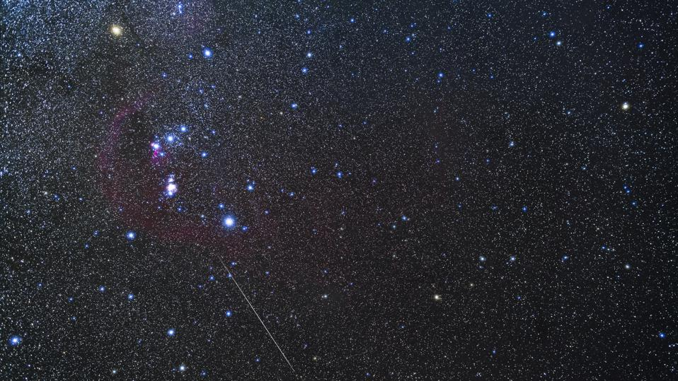 The constellation Orion Catcher taken from a Quailway villa in Arizona. (Photo: VW Pics / Universal Images Group via Getty Images)