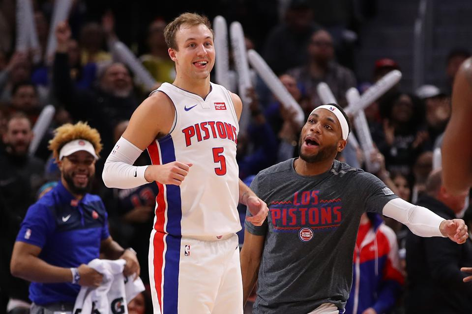 Why Luke Kennard Has A Chance At Making The Detroit Pistons' Starting Lineup