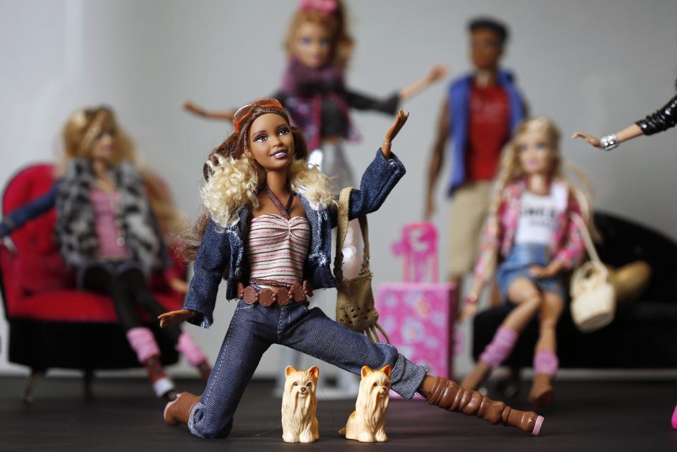 Barbie Doll Exhibition At ″La Nef Des Jouets″ In Soultz