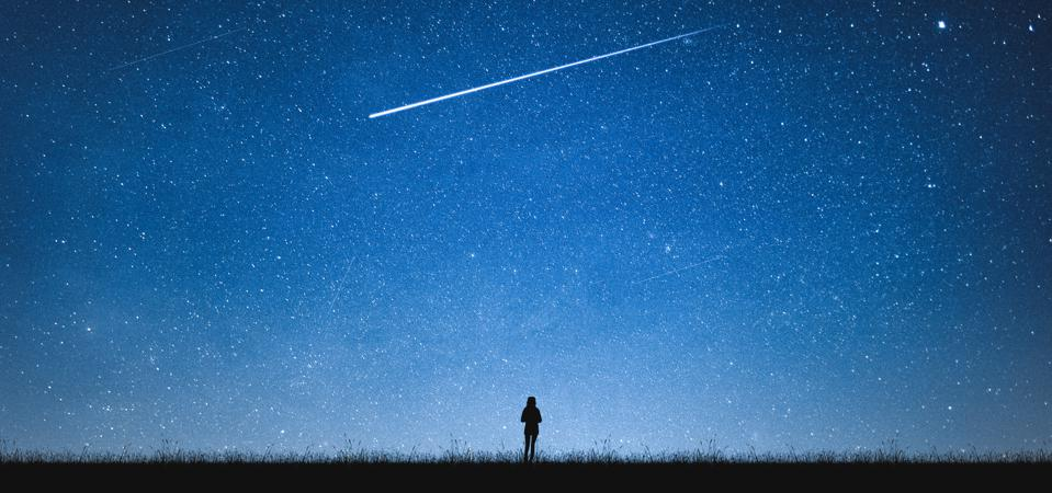 This year from North America it's possible to see shooting stars just as the winter solstice occurs.