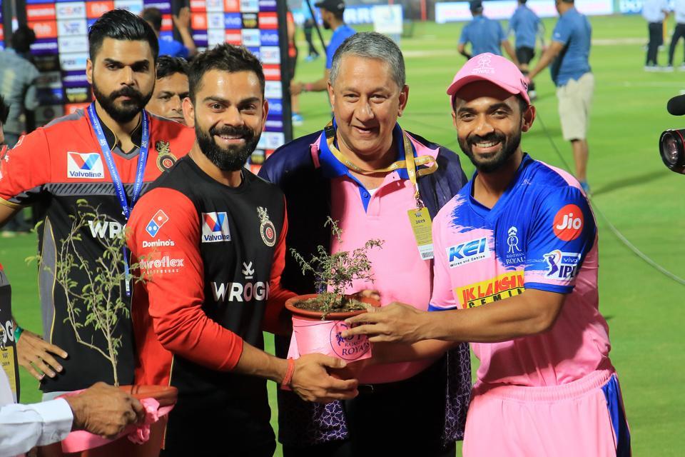 Rajasthan Royals v Royal Challenger - IPL 2019