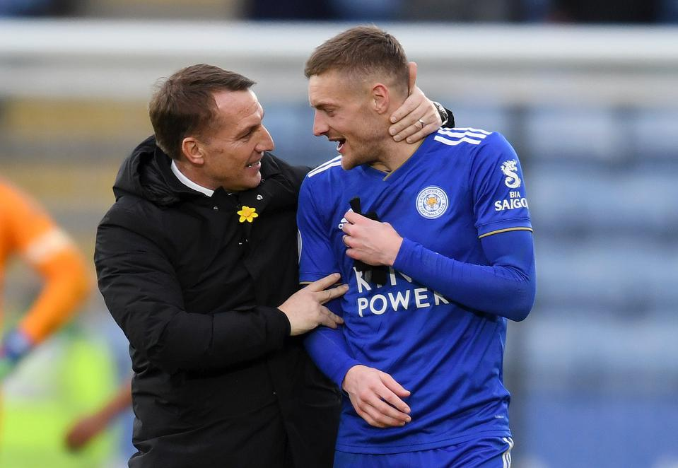 Jamie Vardy Could Be Brendan Rodgers' Meal Ticket Back To The Big Time