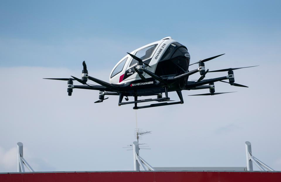 Flying taxi blade ipo