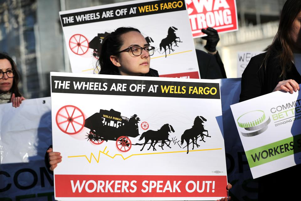 Lawmakers, Employees Call On Wells Fargo CEO To End Discriminatory Practices
