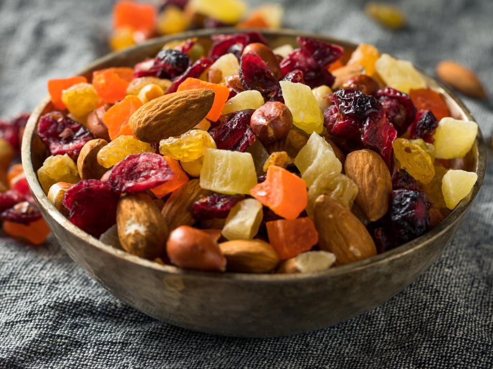 Healthy Dried Fruit and Nut Mix