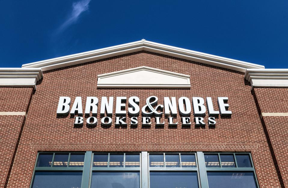 Exterior of Barnes and Noble bookstore, Mall of Georgia...