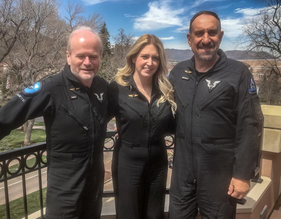 Virgin Galactic's Beth Moses Describes Her Life-Changing View From Space At The Explorers Club
