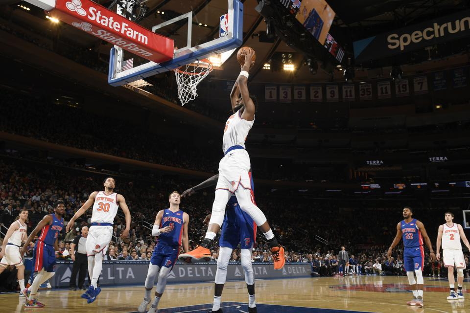 Detroit Pistons v New York Knicks